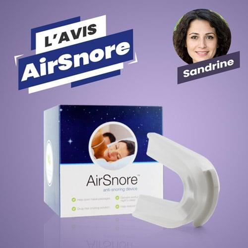 Avis AirSnore