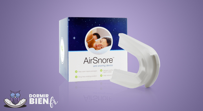 airsnore embout buccal