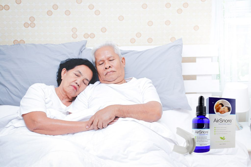 couple airsnore