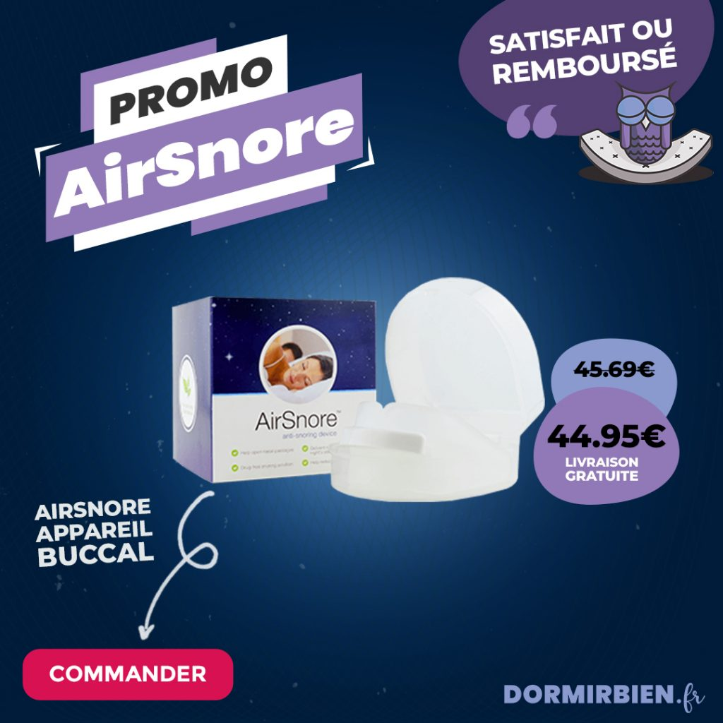 airsnore appareil buccal